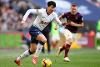 Son Heung-min in action for Spurs against Newcastle United