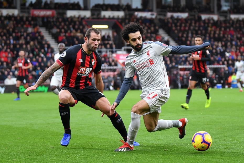 Mohamed Salah v Steve Cook