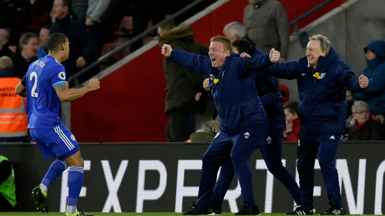 Southampton 1-2 Cardiff City