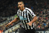 Salomon Rondon scores for Newcastle United against Manchester City
