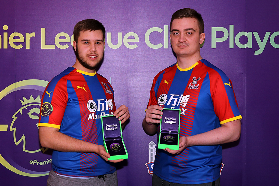 Michael Faria and Damian Augustyniak, Crystal Palace ePL playoff