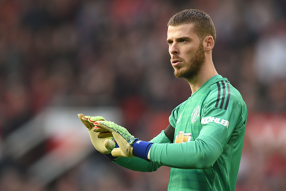 4ca81ee14 De Gea joins exclusive club with 100th shutout