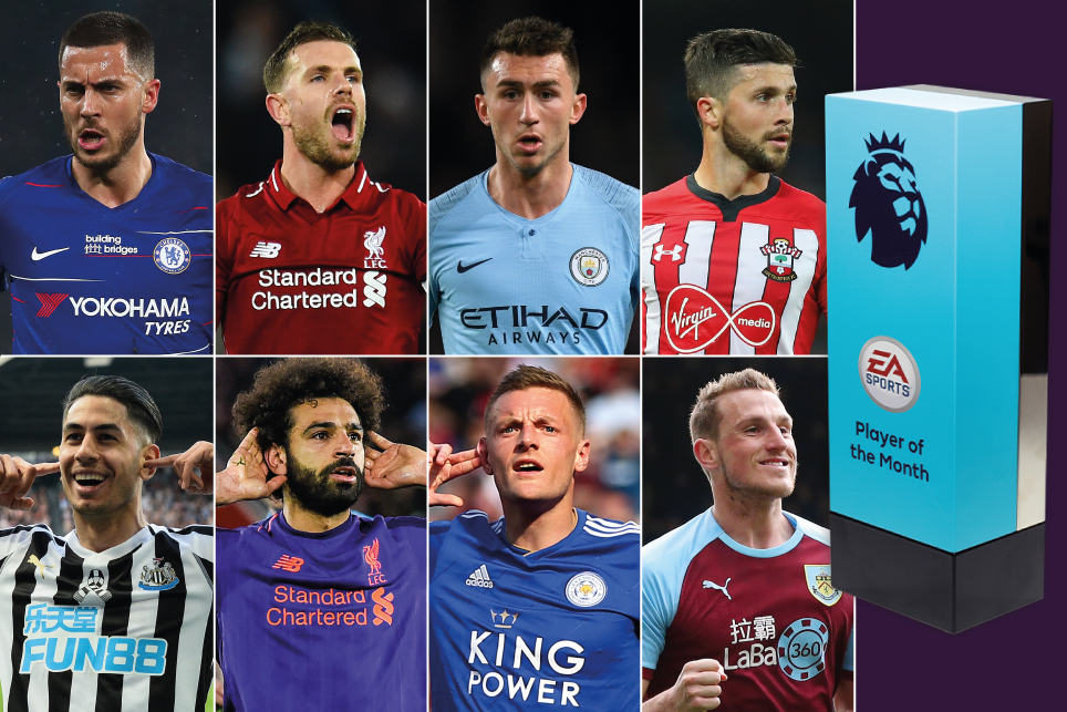 EA SPORTS Player Of The Month Shortlist For April 2019