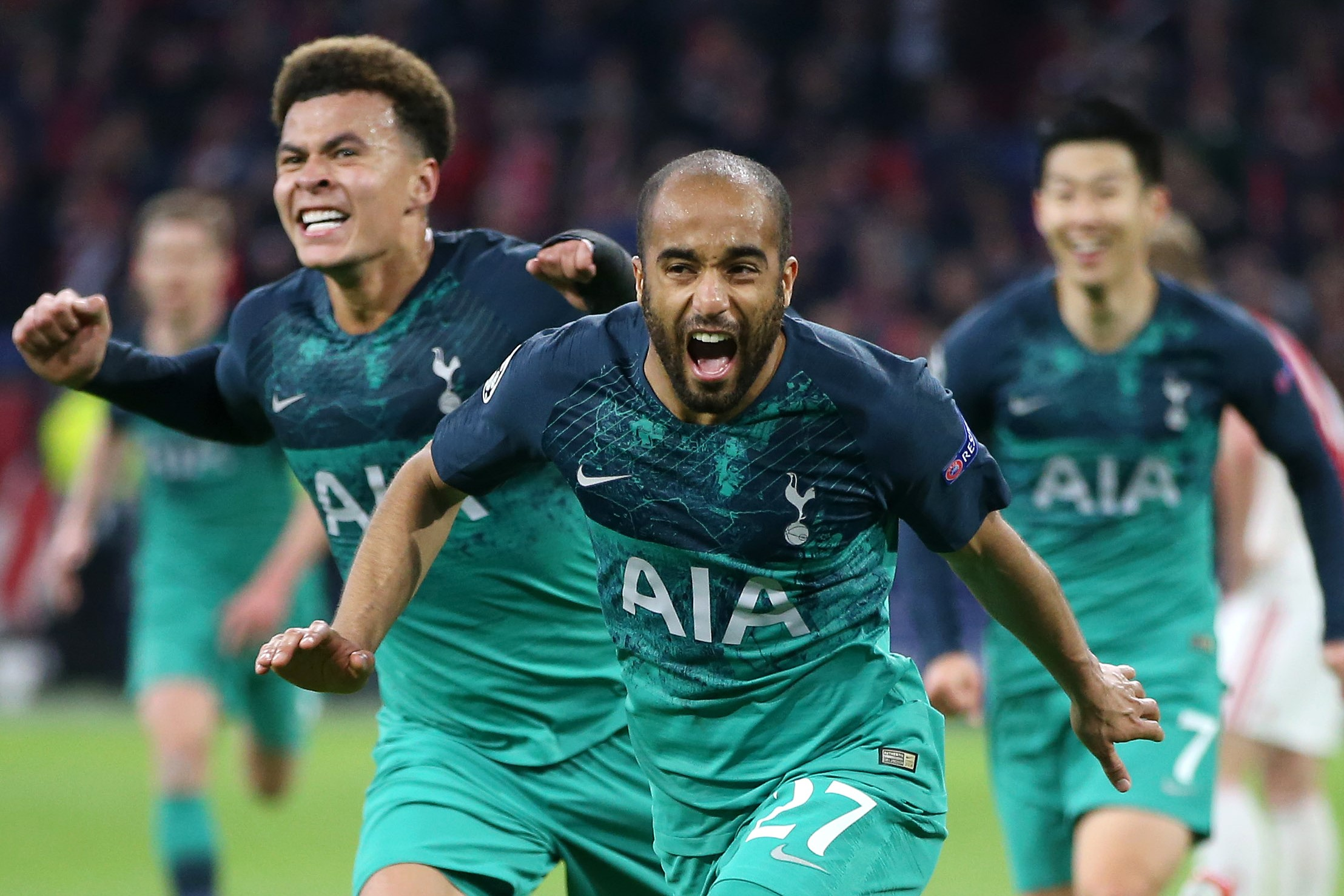 Hat-trick From Lucas Puts Spurs In Final