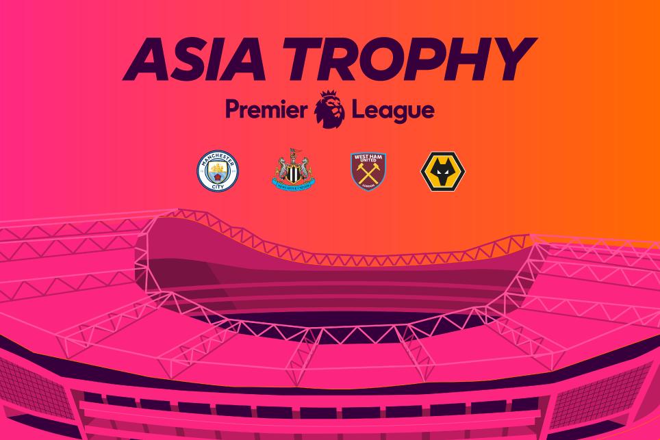 Premier League Asia Trophy tickets on pre-sale