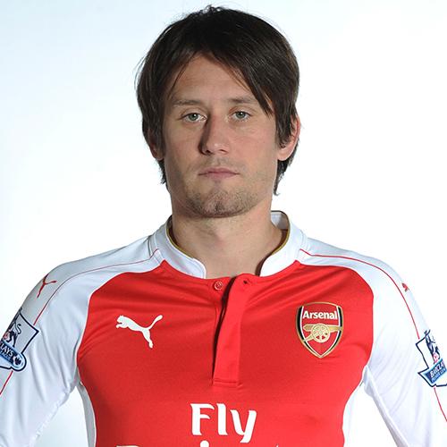 more photos fa257 5f5ac Tomas Rosicky Profile, News & Stats | Premier League